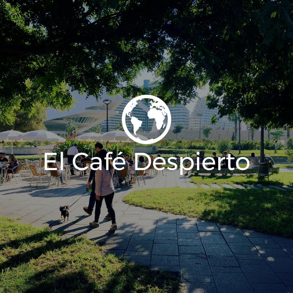 El Café Despierto Logo Oficial