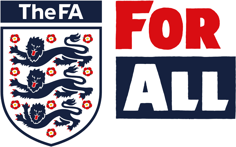 The FA - For All logo