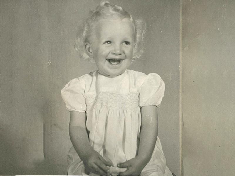 a young Celia