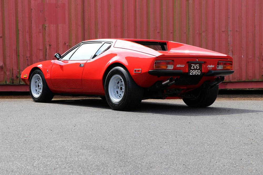 Fully restored 1974 De Tomaso Pantera GTS