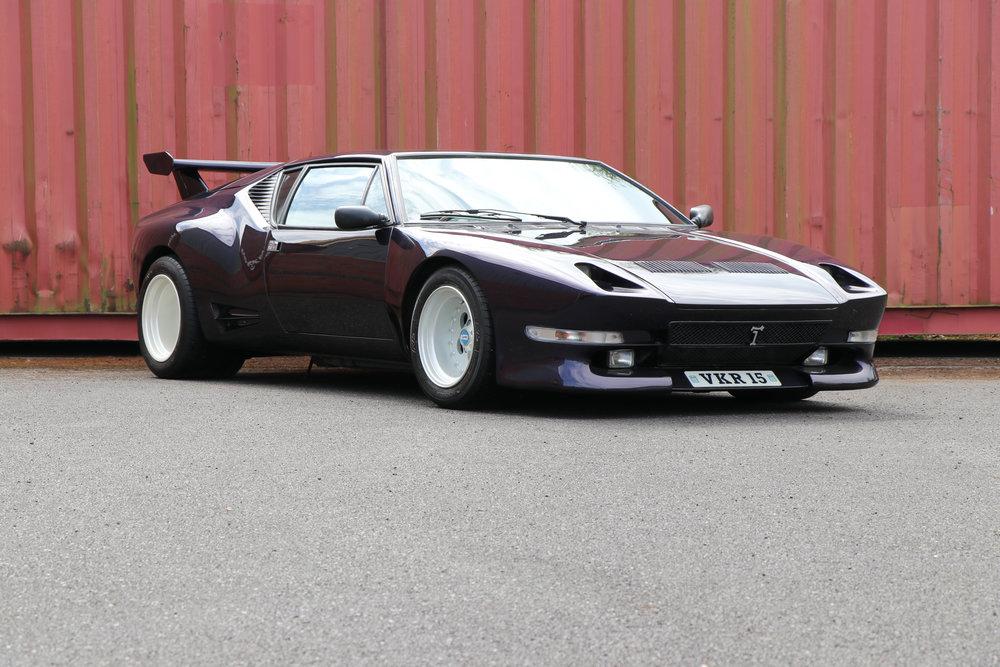 Fully restored 1981 De Tomaso Pantera GTS