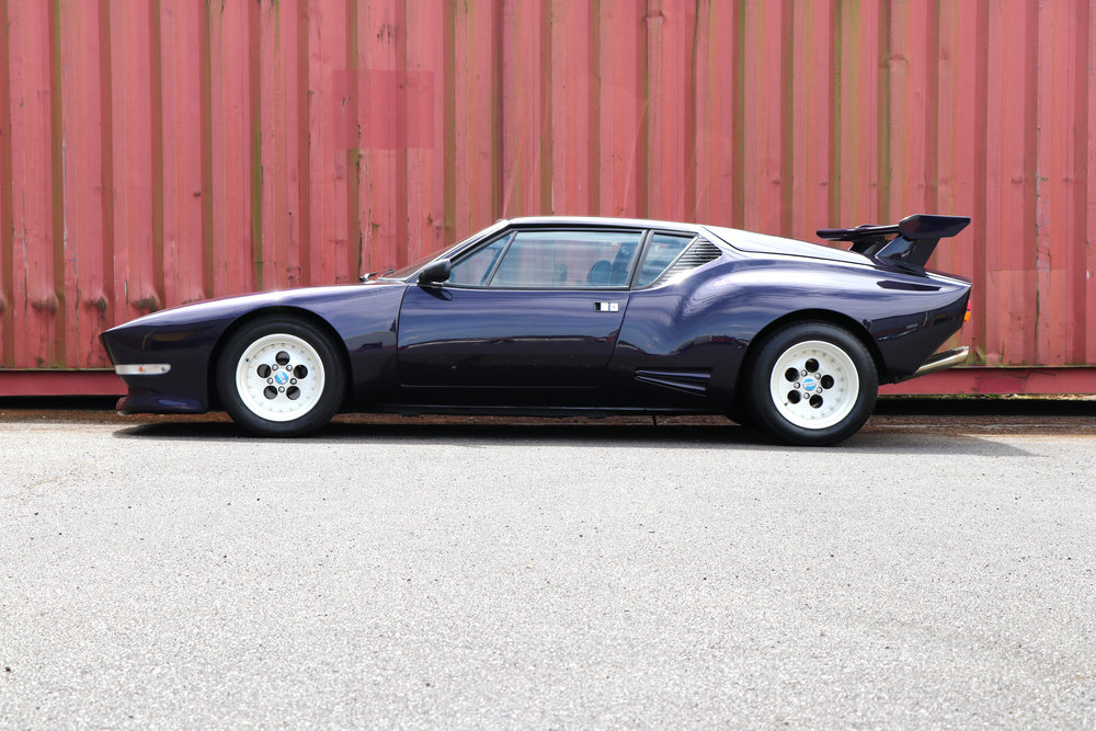 SOLD De Tomaso Pantera GTS 1981 restored at Three Point Four