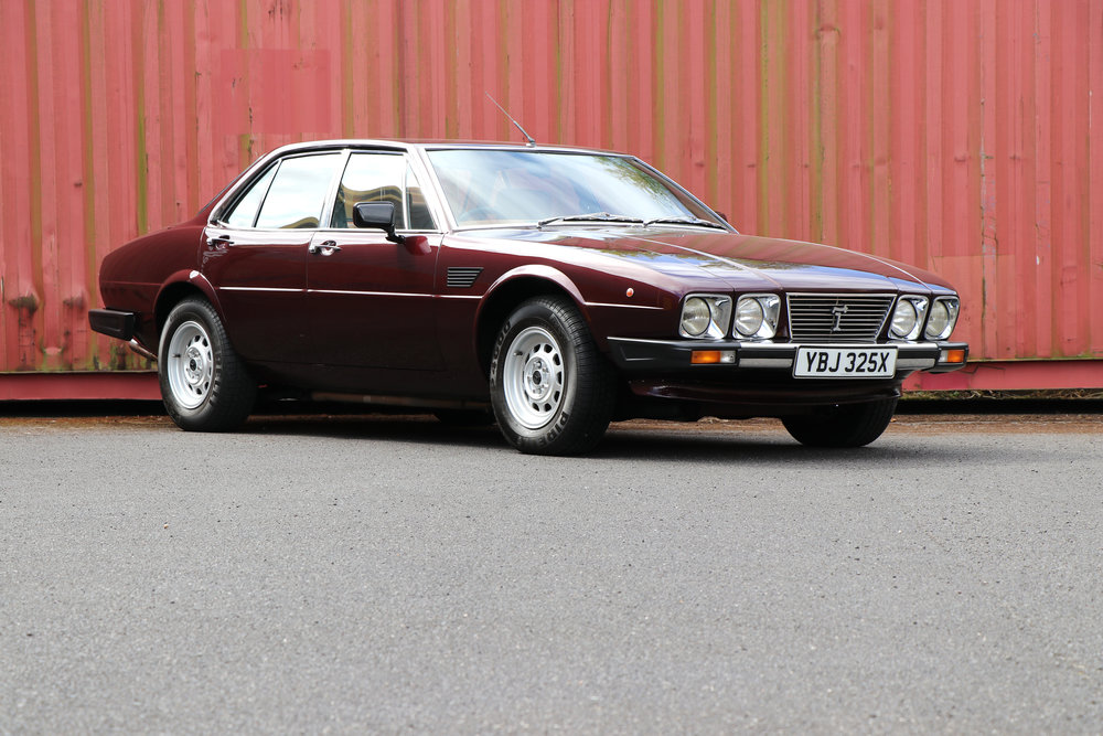 Fully restored 1982 De Tomaso Deauville Series 2 For sale at Three Point Four