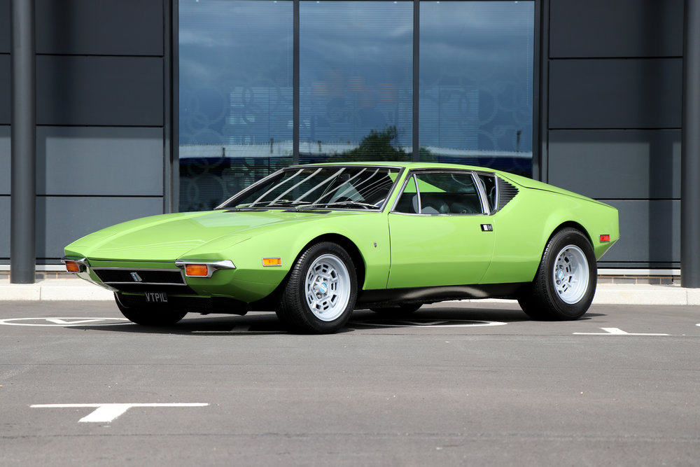 Fully Restored 1972 De Tomaso Pantera, Californian Barn Find