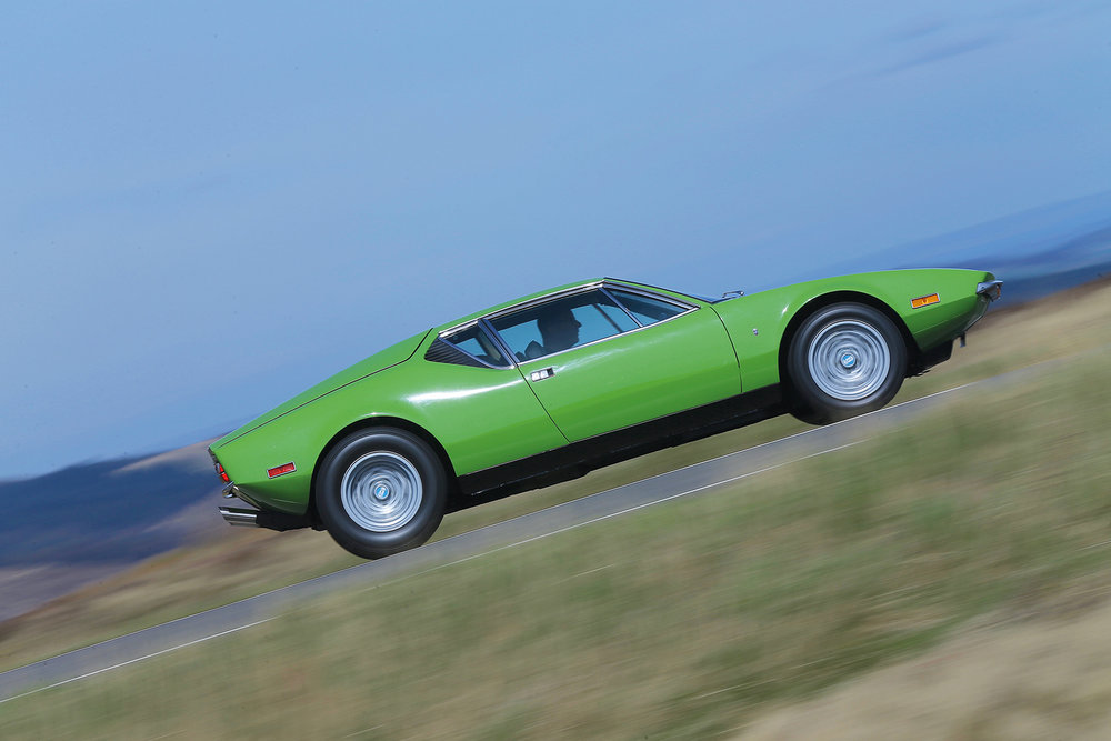 Fully restored 1972 De Tomaso Pantera, UK. Images courtesy of Classic & Sports Car Magazine.