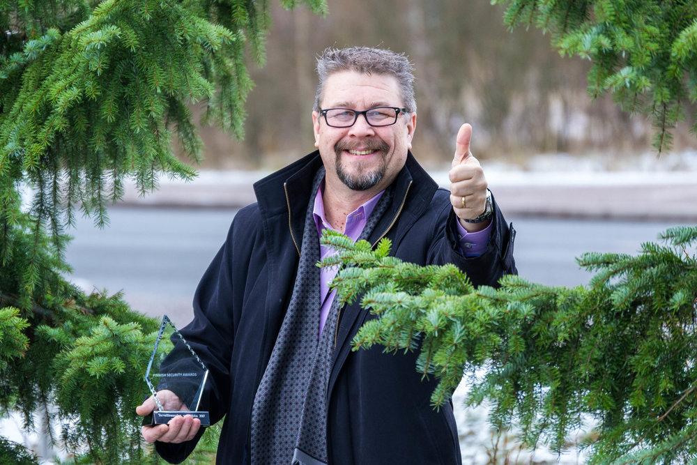 Turvallisuusalan Valopilkku 2017 Timo Lehtinen.jpg