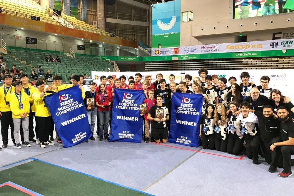 Success in Shenzhen! -