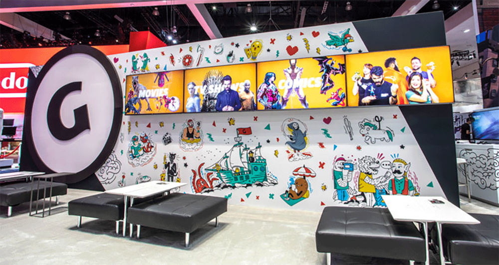 GameSpot E3 Stand [Los Angeles]