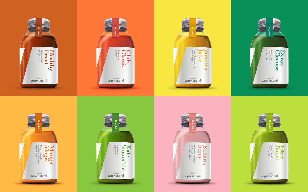 Rebrand of Juice Club to lifestyle brand Supernatural