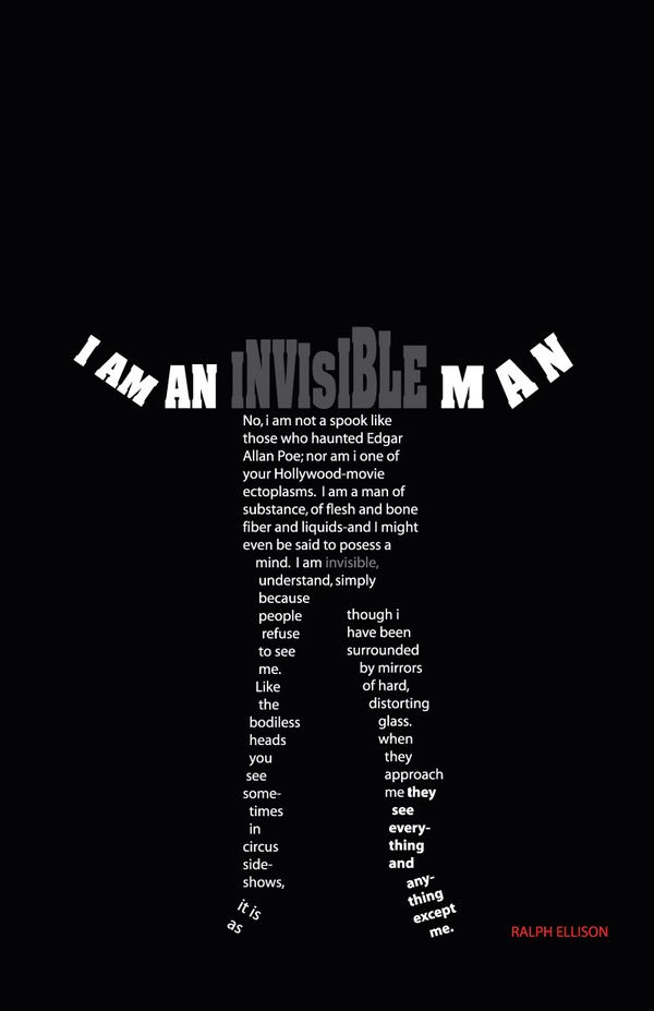 Ralph Ellison's  The Invisible Man