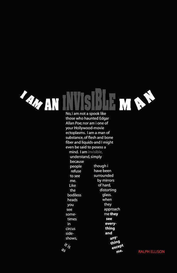 Ralph Ellison's  The Invisible Man