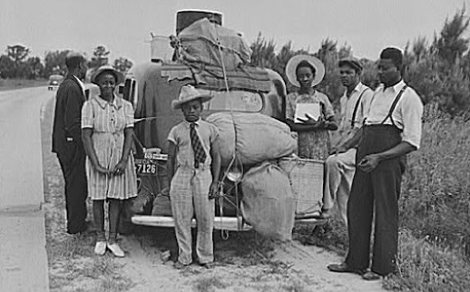 Between 1916 and 1930, over a million African Americans moved to the northern United States.