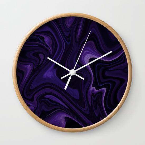 WALL CLOCK NATURAL WHITE