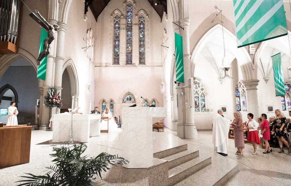 *Stef & Arthur - St Stephen's Cathedral, Brisbane