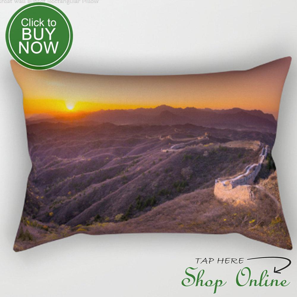 Great wall sunset pillow.JPG