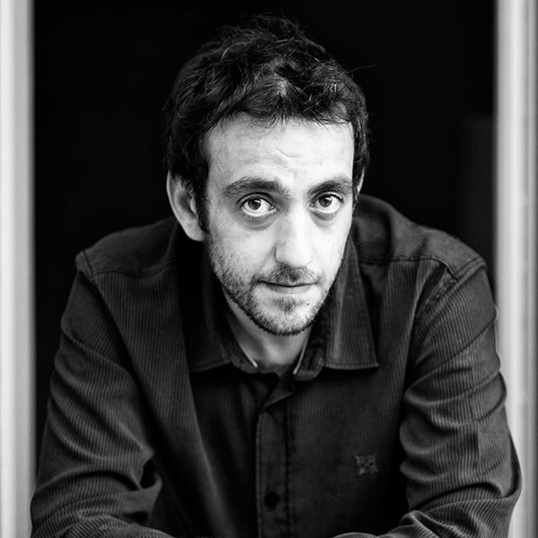 Photograph of Jerôme Ferrari ©Jerôme Ferrari