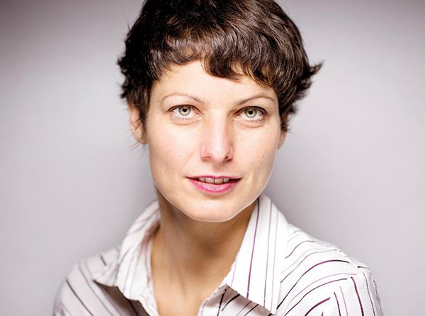 Photograph of Sophie Divry © Olivier Roller