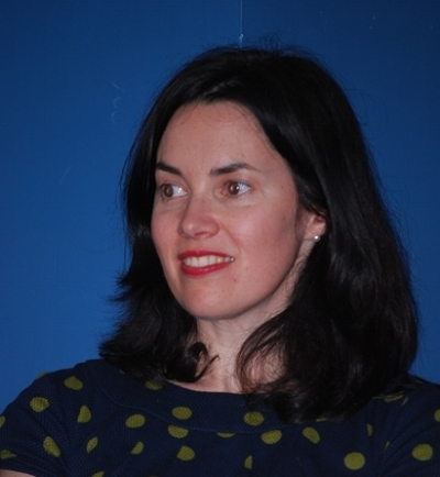 Angharad Price at the launch of her book in Aberystwyth.jpg