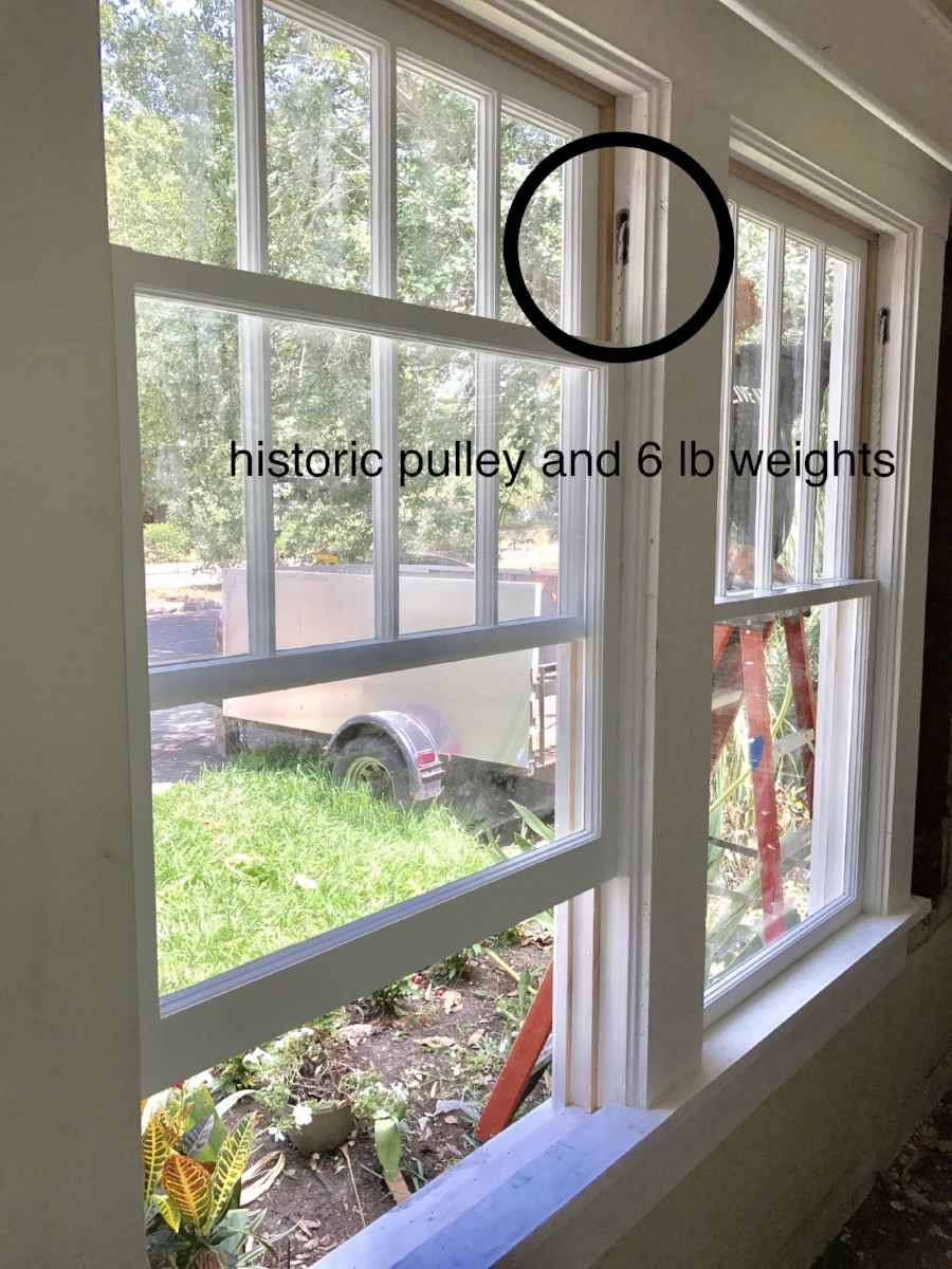 Double Hung Wood Sash Windows : Historic seminole heights wood window frame and sash