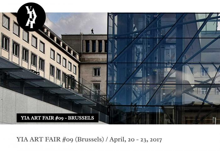 YIA Art Fair #09 20 - 23 aprile 2017The Square Brussels  -