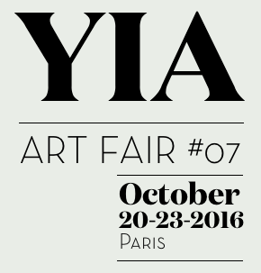 YIA Art Fair #07October 20th - 23rd 2016Le Carreau du Temple 4 rue Eugène Spuller75003 ParisBooth 21 / 22  -