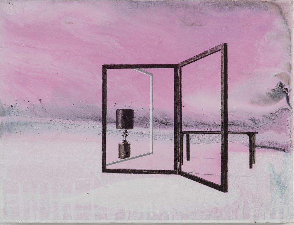Gioacchino Pontrelli, Senza titolo # 12, 2009, tecnica mista su tela cm 30x40.jpg