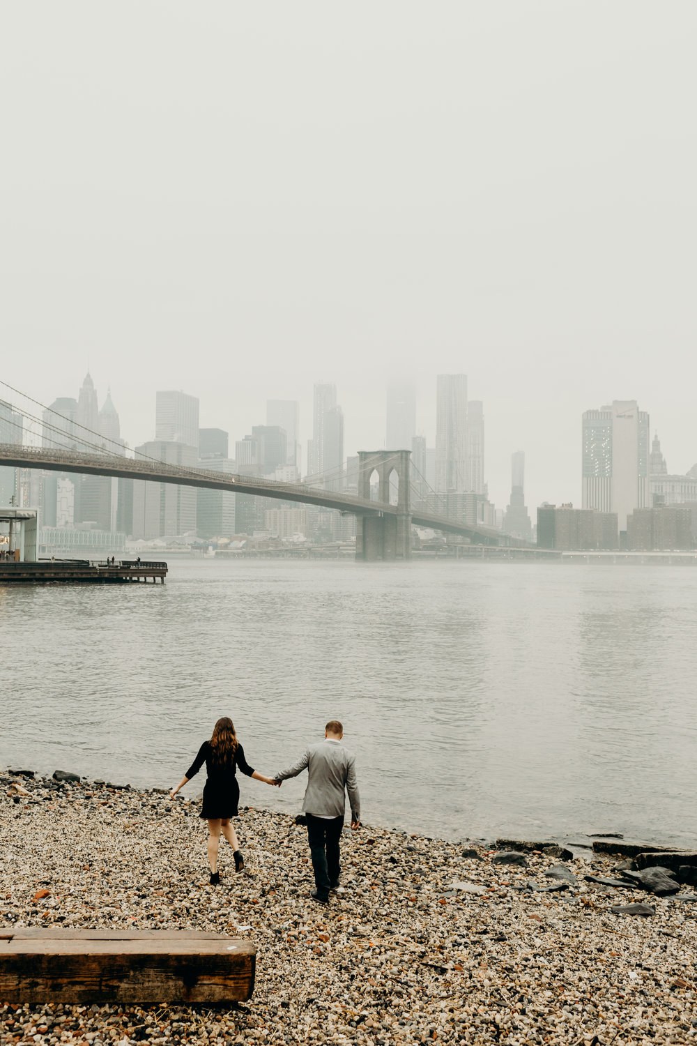 Dumbo Brooklyn NYC engagement photos