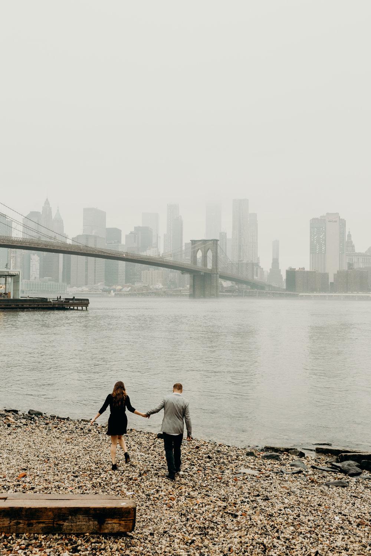 Dumbo Brooklyn NYC engagement photos