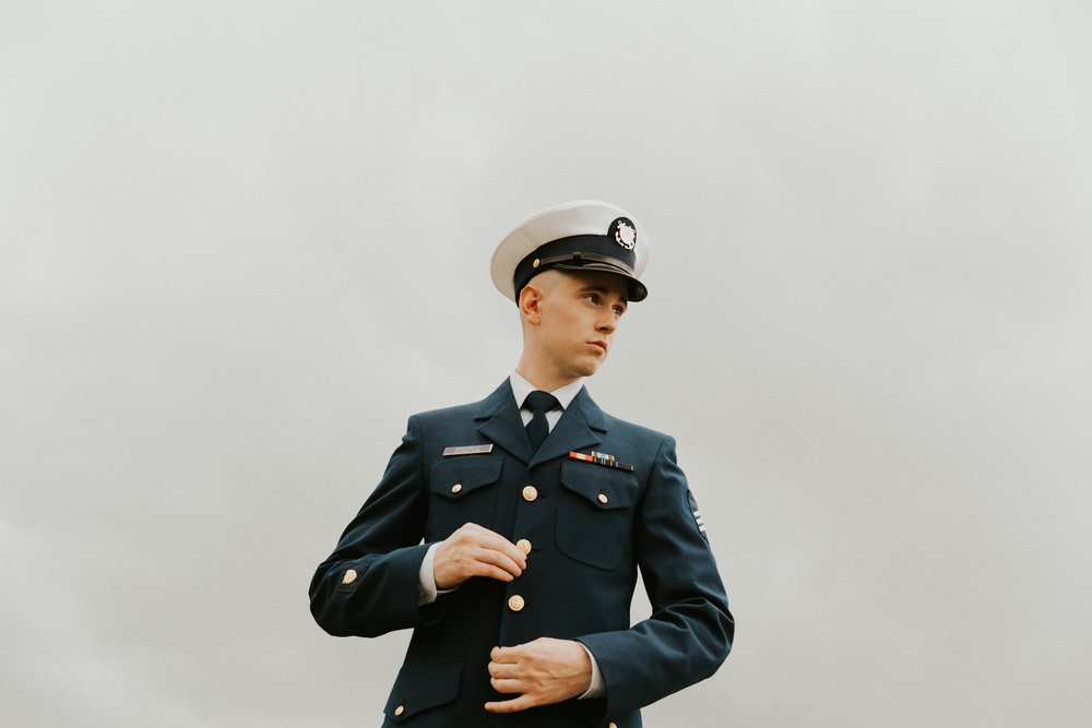 U.S. Coast Guard Wedding Uniform