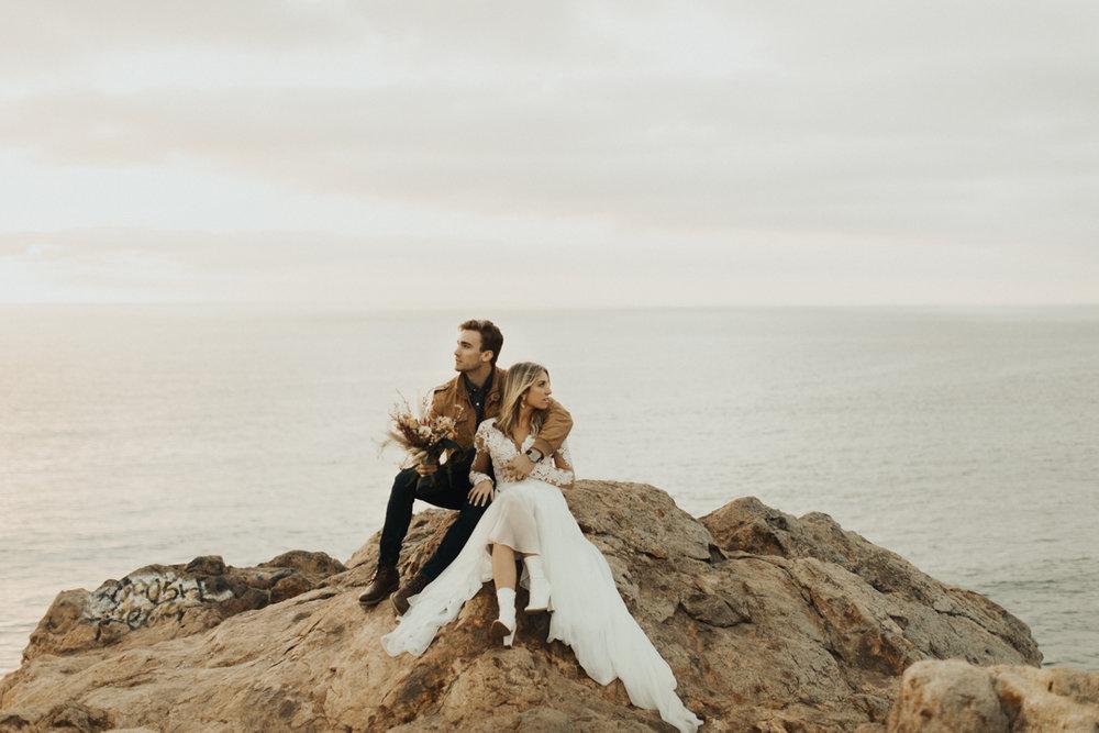 Elopement   styled california elopement