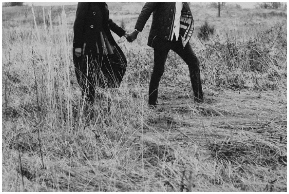 Washington DC Wedding Photographer: US National Arboretum Winter Engagement Session