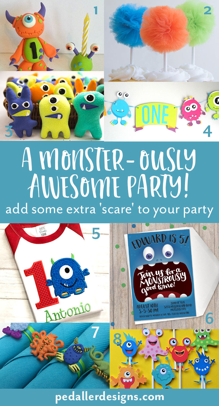 There is nothing so adorable as a monster themed party for your little monster on their birthday. We've rounded up some fun and scary products to get the party of to a roaring time! Click through to find out more >>