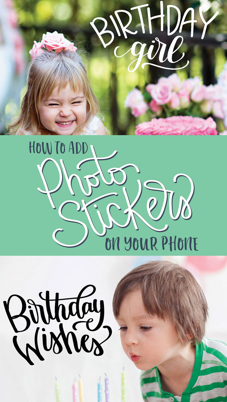 Make your instagram posts a little special or add that extra touch to your Chapbooks with  hand lettered photo stickers that you can add to your photos in just a few seconds with Pic Monkey.
