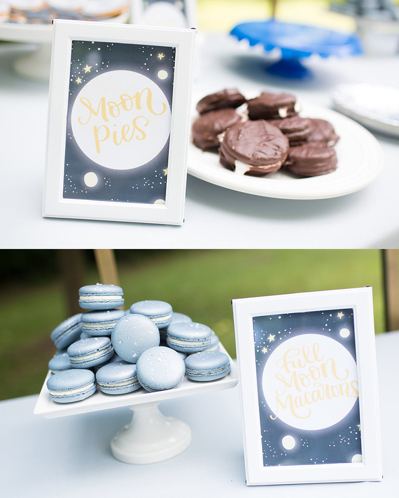 Fun Moon Birthday Party Food Ideas