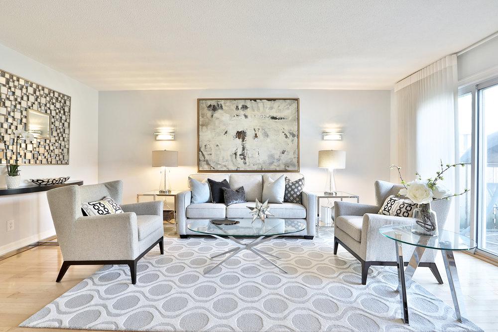 36 Crimson Millway Living Room Slavens Real Estate Toronto