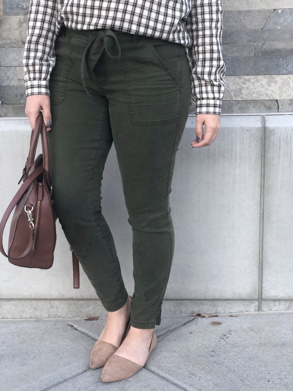 The most flattering chinos! They would be great for a business casual work setting as well!