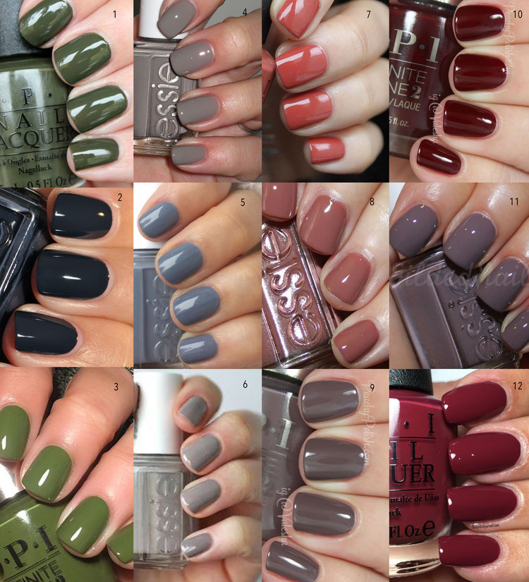The Best Nail Colors for Fall — MOLLIE À LA MODE