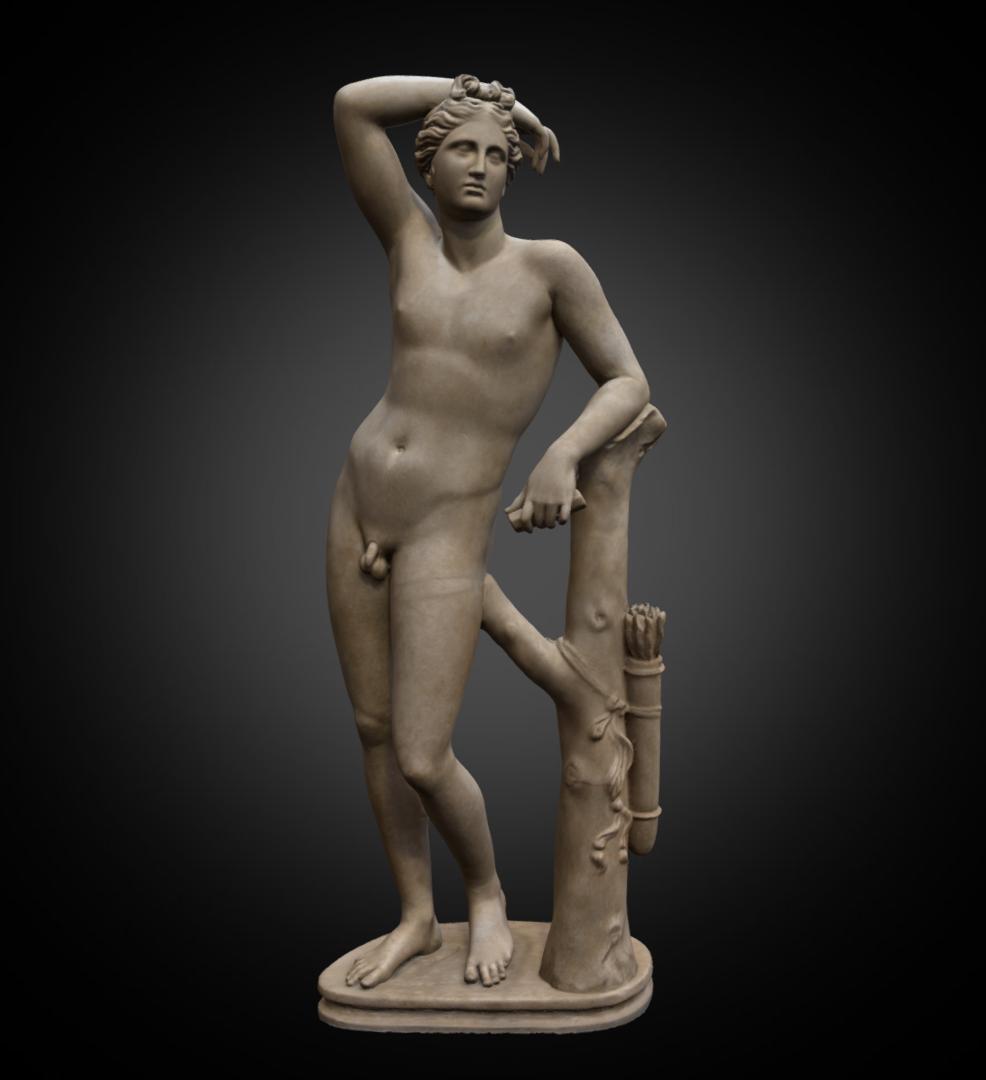 Apollino - Inv. #: 989 / Man. #: 46 / Material: GreekMarble