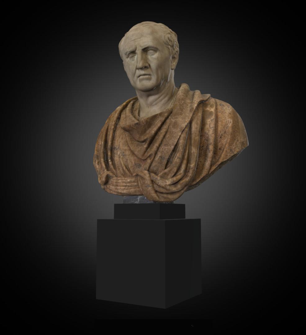 Cicero - Inv. #: 352 / Man. #: 33 / Material: Greek Marble