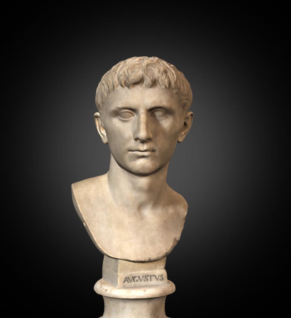 Augustus - Inv. #: 81 / Man. #: 38 / Material: Greek Marble