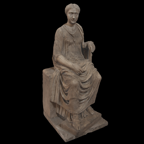 Seated Ceres / n. 344