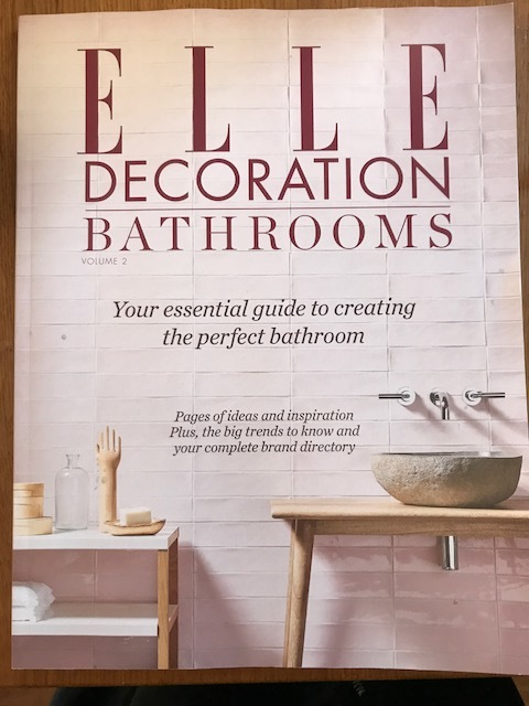 We're just sooo on trend, (daaarling)! - It couldn't get better than finishing our toilets just as this comes out!