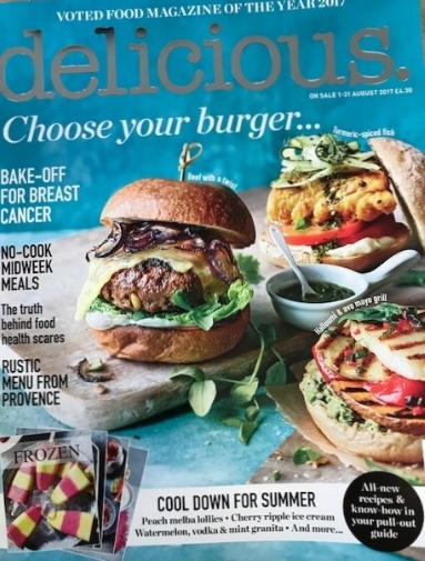 "The August edition of ""delicious"" magazine - see page 20 onwards!"