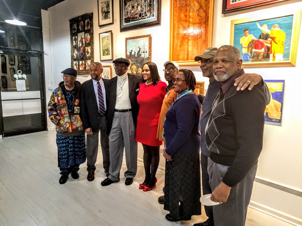 Long Island Black Artists Association Opening Ceremony