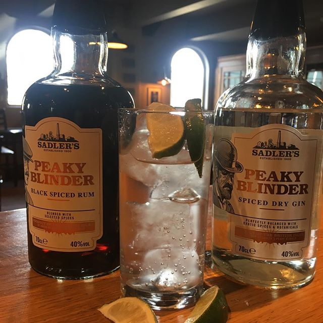 #peakyblinders !!! You've seen the programme !! Have you tried the drinks ?? #peakyblinderrum #peakyblindergin
