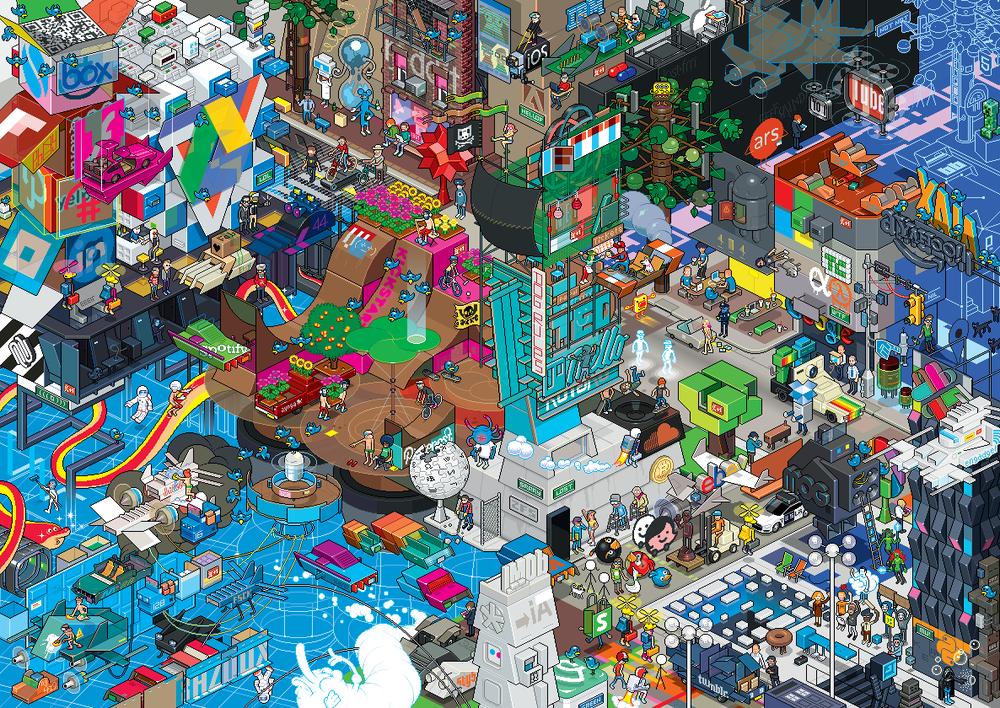 eBoy BazQux - Internet en Pixel Art