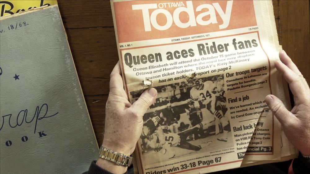 Phil looks at Ottawa Today newspaper