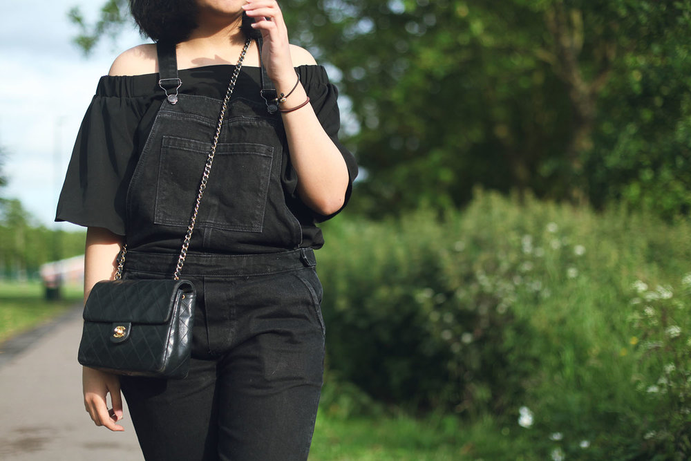 how to style dungarees rubbersouled