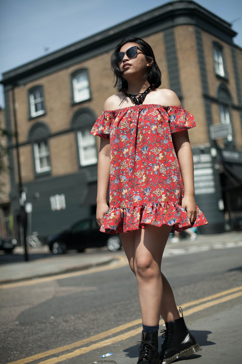rubbersouled grunge chic dr martens dress