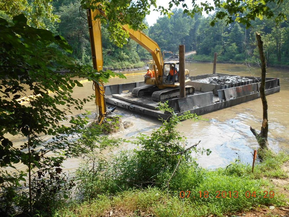 Lake Ben Johnson Dredging, Hillsborough, NC